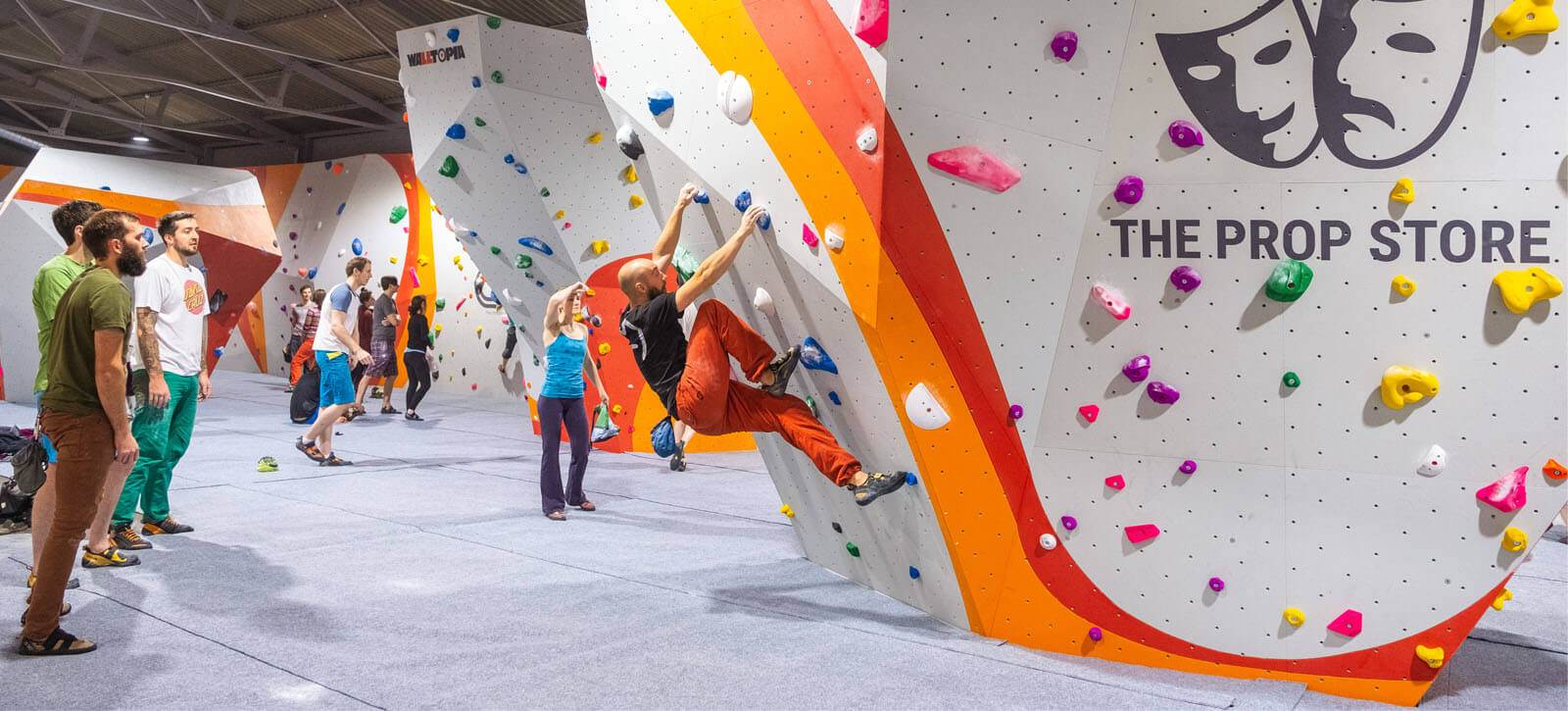 The Prop Store climbing centre