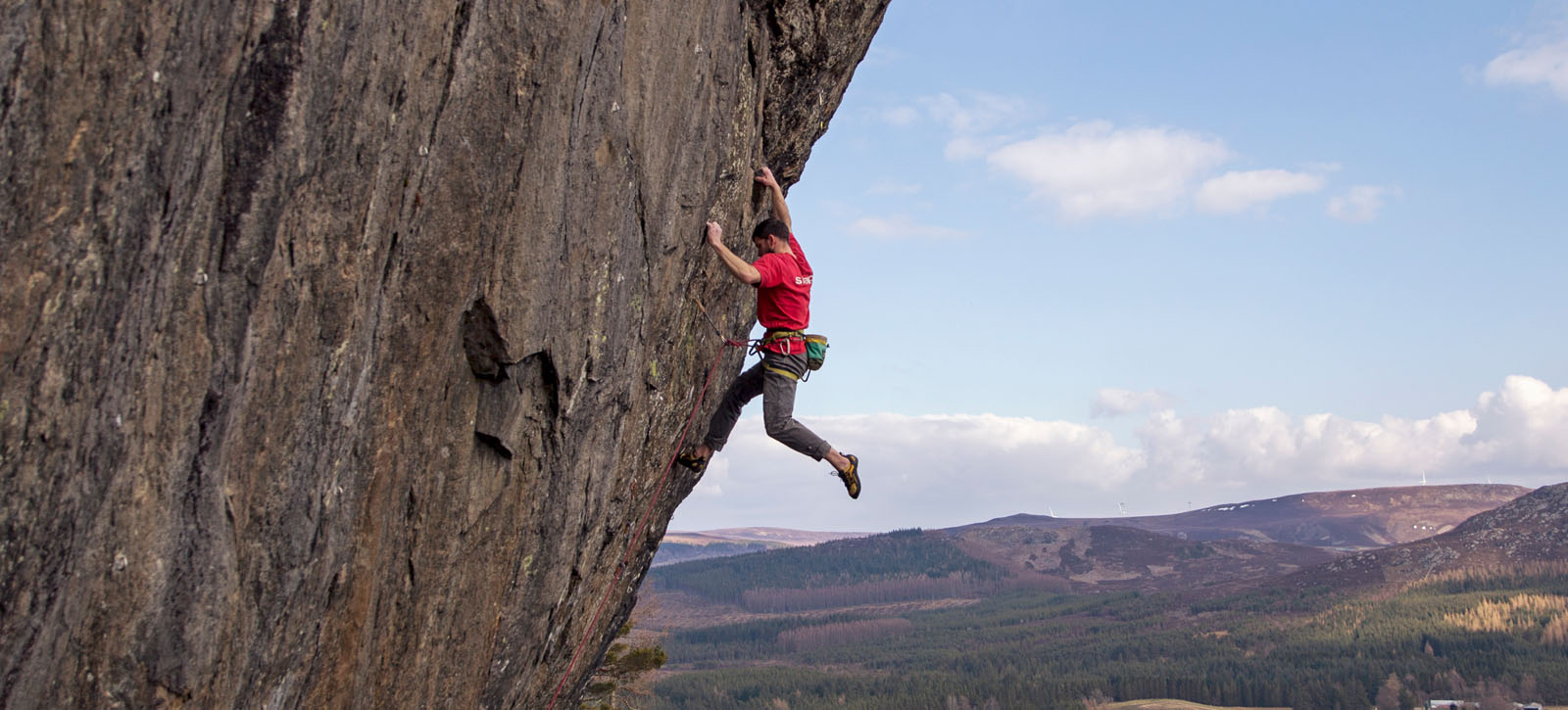 Alan Cassidy on The Force 8b at Brin Rock