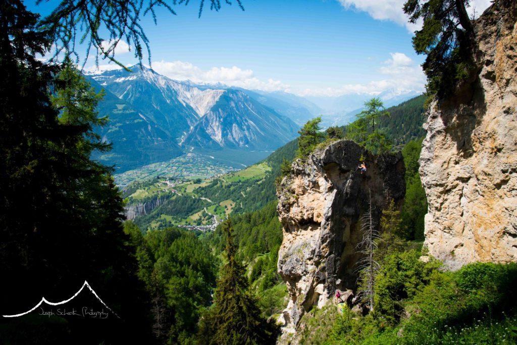 Swiss sport climbing