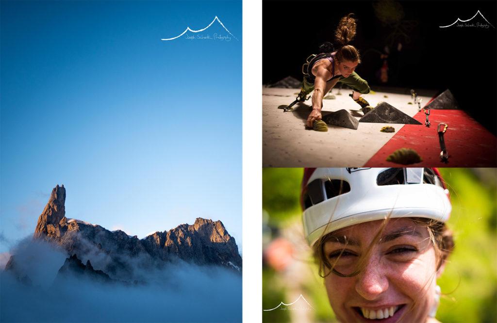Climbing photos